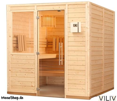 sauna viliv klassik tiefe x breite x h he 1592 x 1802 x 2020 mm. Black Bedroom Furniture Sets. Home Design Ideas