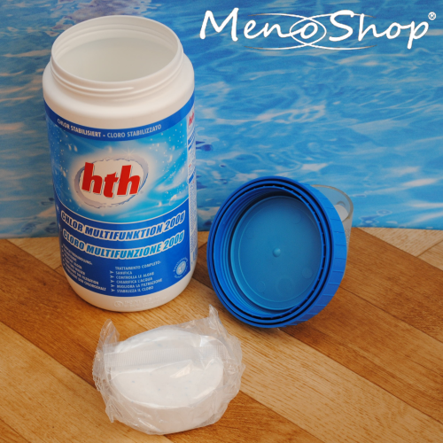 HTH Chlortabletten Multifunktion 200g Tabletten