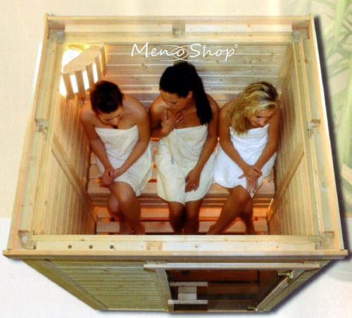 typ 3 minimeno massivholz sauna 230 volt sauna. Black Bedroom Furniture Sets. Home Design Ideas
