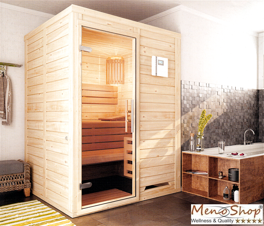 menonatura 230 volt massivholzsauna f r jeden raum. Black Bedroom Furniture Sets. Home Design Ideas