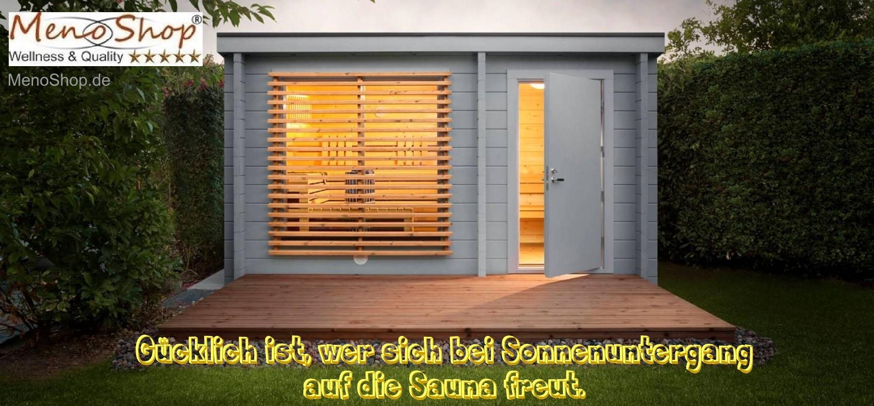 Aussensauna Gartensauna Draussensauna Viliv Wellness Sauna